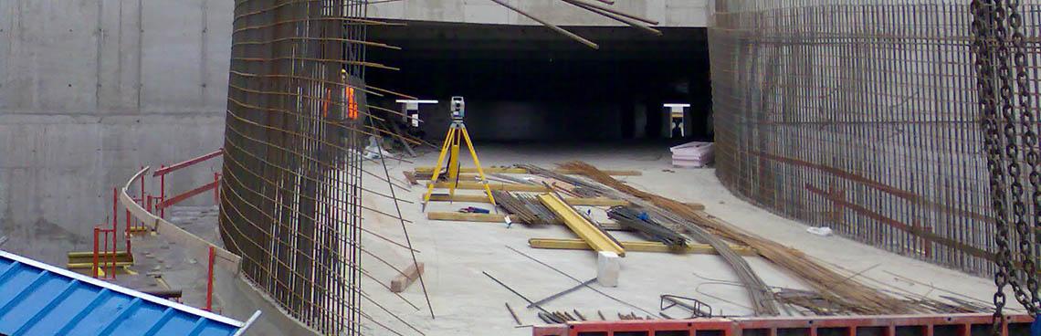 Kontrolní měření staveb